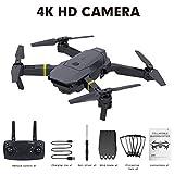 vogueyouth Faltbare RC-Drohne mit Vier Achsen und Live-Video-Kamera - 720P, 1080P, 4K WiFi, FPV, Quadrocopter mit einem Schlüssel, Start/Landehöhe,...