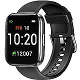 Letsfit IW1 Smartwatch, 1.4 Zoll Voll Touchscreen Fitnessuhr mit Schrittzähler, Fitness Tracker IP68 Wasserdicht Sportuhr Smart Watch mit Pulsuhr und...