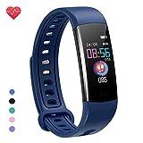 moreFit Fitness Tracker Kinder, Schrittzähler Uhr Fitness Armband mit Pulsmesser Schlafmonitor Stoppuhren Kalorienzähler Wasserdicht IP67 GPS Fitness Uhr...