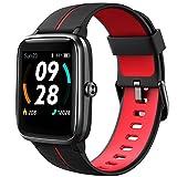 Lintelek Smartwatch 1,3 Zoll Touch Farbdisplay Screen mit GPS 5ATM Wasserdicht Smart Watch mit Herzfrequenzmesser Schlafmonitor Fitness Tracker Wettervorhersage...