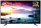 TCL 55BP615 LED Fernseher 55 Zoll (139cm) Smart TV (4K Ultra HD, HDR 10, Triple Tuner, Android TV, Micro Dimming PRO, Prime Video, Alexa und Google Assistant,...