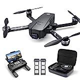 Holy Stone HS720E GPS Drohne mit 4K EIS UHD Kamera,Quadrocopter ferngesteuert mit 2 Akkus Lange Flugzeit,Follow Me,5G WiFi Übertragung,Return...
