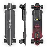 Teamgee H20 Elektro-Skateboard mit kabelloser Fernbedienung, Longboard-Skateboards für Jugendliche und Erwachsene, 26 PMH Höchstgeschwindigkeit, 1080 W...