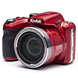 KODAK Pixpro AZ422 - Digitale Bridgekamera (20 MP, 42-facher optischer Zoom, HD-Video, 3'-LCD-Monitor) Rot