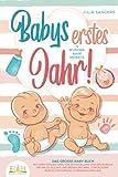 Babys erstes Jahr! 12 wunderbare Monate: Das große Baby Buch mit wertvollen Tipps für Entwicklung und Ernährung bis hin zu Alltag und Erziehung (inkl....