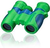 Bresser junior Kinderfernglas 6x21 für Kinder mit Mitteltriebfokussierung, Dioptrienausgleich und robustem gummiarmiertem Fernglaskorpus inklusive...