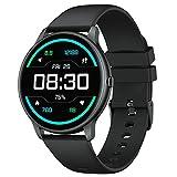 YAMAY Smartwatch für Damen Herren,1.28 Zoll HD Farbdisplay Fitnessuhr Smart Watch mit 13 Trainingsmodi,Fitness Tracker mit Pulsuhr,Schrittzähler,Hunderte von...