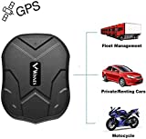 Winnes Starker Magnet GPS-Tracker, 3 Monate Lang Standby GPS, Fahrzeug Tracker Echtzeit Monitoring System, wasserdicht GPS Locator, Anti Verloren GPS...