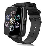 Smartwatch für Kinder, Uhr Telefon für Mädchen Jungen Touchscreen mit Musik Player, Spiel, Kamera, Taschenlampen, Wecker, Smart Watch Telefonieren Geschenk...