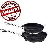 Circulon Premium Bratpfannen Set – 25 cm und 30 cm Profi Pfannen – Lebenslange Zufriedenheitsgarantie – Fettarmes Kochen durch Exzellente...