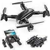 SNAPTAIN SP500 Faltbare GPS FPV Drohne mit 1080P Full HD Kamera-Live-Video, GPS Drohne mit GPS-Heimkehr und Gestensteuerung, Kreis fliegen, Follow-Me-Modus und...