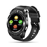 SEPVER Smartwatch Schrittzähler Fitness Tracker Uhr mit SIM-Karte, Whatsapp Informationen Smart Watch mit Musiksteuerung für Android Huawei Samsung Xiaomi...