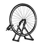 Greensen Zentrierständer Fahrrad, Fahrradmontageständer Fahrrad Reparaturständer Rad Zentrierständer Wartung Fahrradzubehörteile Rad Kickhalterträger...