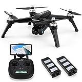 INKPOT JJRC JJPRO X5 WiFi GPS Drohne mit 2K HD Kamera Live Video und GPS Automatische Zurückkehren Quadrocopter mit Bürstenlosen Motor , Höhe...