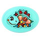 Qshare - Kleinkindplatte, Babyplatte für Kleinkinder und Kinder, Tragbare, BPA-freie, von der FDA zugelassene, starke Saugplatte für Kleinkinder