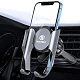 Handyhalterung Auto Lüftung [Geeignet für alle Lüftungen], DesertWest Handyhalter fürs Auto mit Memory-Funktion, Universale Kfz Smartphone Halterung...