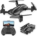 Holy Stone HS165 Faltbare GPS Drohne mit Kamera HD 5G 1080P, Quadrocopter, Helikopter Ferngesteuert mit 90° Weitwinkelobjektiv, GPS Navigation, Tap Fly, Circle...