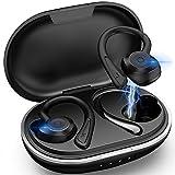 Muzili Bluetooth 5.0 Kopfhörer Sport[2021 Neuestes Modell] Kopfhörer Sport Joggen IPX7 Wasserdicht Sport Kopfhörer Kabellose In Ear 36 Stunden Spielzeit mit...