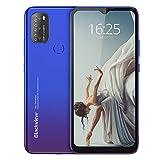 Blackview A70 (E) Smartphone ohne Vertrag Android 11, 6.517 Zoll HD mit 5.380mAh Batterie, 3GB RAM+32GB Speicher Octa-core, 13MP+5MP Kamera, Fingerabdruck...
