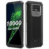 10000mAh-Akku Smartphone ohne Vertrag OUKITEL K15 Plus, 18W Schnellladung+Rückladung, 3GB+32GB, 13MP Dreifachkamera, Android 10 Dual-SIM-Handy,...