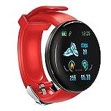 KawKaw DX Smartwatch für Damen Herren und Kinder mit Schlaftracker Kalorienzähler Schrittzähler Pulsuhr Health Watch Activity Tracker mit Touchfunktion...