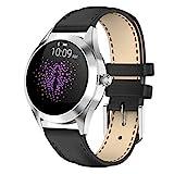 LTLJX Smartwatch Damen,1.04 Zoll Touch-Farbdisplay Fitness Armbanduhr mit Pulsuhr Fitness Tracker IP68 Wasserdicht Sportuhr Smart Watch mit...