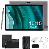 4G LTE Tablet PC 10 Zoll, Android 9.0 Zertifiziert von Google GMS, 3 GB RAM 32 GB ROM 8000 mAh Quad-Core, Dual Kamera Tablets Unterstützung WiFi,Bluetooth,...