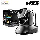 INSTAR IN-6014HD schwarz - WLAN Überwachungskamera - IP Kamera - steuerbar - Innenkamera – Mikrofon – Lautsprecher - Pan Tilt - PIR - Bewegungserkennung -...
