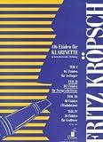 ETUEDEN 2 - arrangiert für Klarinette [Noten / Sheetmusic] Komponist: KROEPSCH FRITZ