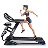 Fitifito keeps you in shape klappbares enegiesparendes gedämpftes FT800 Profi-Laufband 20.0km/h, 3PS, 7' LED Display, Multifunktion mit Bauchtraining...
