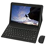 KISEDAR Tablet 10 Zoll Android 9.0 4GB RAM 64GB, entsperrter Quad-Core-Tablet-PC,geeignet für 3G-Mobiltelefone, SIM-Kartensteckplatz mit Zwei Kameras,...