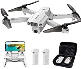 Tomzon Faltbare GPS Drohne mit 4K UHD Kamera, FPV Drohne,195g,RC Quadcopter mit Return-to-Home,Intelligente Flugmodi,Follow Me, Circle Fly, Waypoint,MV-Modus, 2...