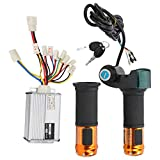 ROMACK Bürsten-Controller-Set, Elektro-Fahrrad-Bürsten-Controller-Set Langlebige Leistungsanzeigefunktion für 1000W48V Elektrofahrradprodukte