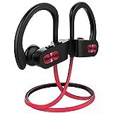 Mpow Flame Bluetooth Kopfhörer, IPX7 Wasserdicht Kopfhörer Sport, Bluetooth 5.0/7-10 Stunden Spielzeit/Bass Technologie, Sportkopfhörer Joggen/Laufen, In Ear...