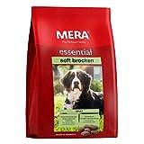 MERA essential Hundefutter  Soft Brocken  Halbfeuchtes Trockenfutter für ausgewachsene Hunde mit normalem Aktivitätsniveau - Ohne Zucker &...
