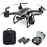 DEERC Drohne mit Kamera 1080P FHD Live Übertragung 120° Weitwinkel,RC Quadrocopter mit 2 Batterien Lange Flugzeit,Höhenhaltung,Handysteuerung,Tap...