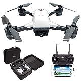 LE-IDEA Drohne IDEA10 - Faltbare GPS Drohne mit 1080P 120° FPV WiFi Kamera HD live übertragung - Return Home - Follow Me, Anfänger und Experte,Tragetasche...