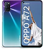 OPPO A72 Smartphone 16,51 cm (6,5 Zoll), 128 GB interner Speicher, Android 10, 48 MP Quad-Kamera + 8 MP Ultraweitwinkel-Objektiv, 1080P Display, Qualcomm, 5000...