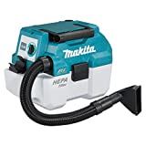 Makita DVC750LZX1 Staubsauger 18 V (ohne Akku, ohne Ladegerät), blau