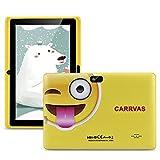 CARRVAS Kinder Tablet 7 Zoll Pad WiFi Android Tablet für Kinder 1 GB RAM + 16 GB ROM Vorinstalliertes Iwawa, Elternkontrollerziehung Tablets mit Lernspiel...