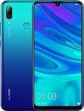Huawei P smart 2019 64GB Hybrid-SIM Aurora Blau EU [15,77cm (6,21') LCD Display, Android 9.0, 13MP+2MP]