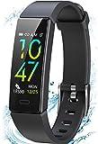 Winisok Fitness Armband mit Blutdruckmessung Pulsmesser, Fitness Tracker Uhr Wasserdicht IP68 Schrittzähler Uhr Stoppuhr Sport GPS Aktivitätstracker...
