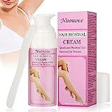 Enthaarungscreme, Haarentfernungscreme, Hair Removal Cream, Haarentfernung Enthaarungsmittel Schmerzlose Haarentfernung Creme auf Gesicht, Bikini, Unterarm,...