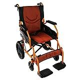 Mobiclinic, Faltrollstuhl, Pirámide, Europäische Marke, Orthopädisch, Sitzfläche 46 cm, Rollstuhl für Ältere und behinderte Menschen, Transit-Rollstuhl,...