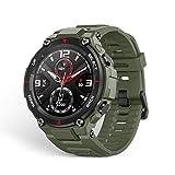 Amazfit Smartwatch T-Rex 1,3 Zoll Outdoor Digitale Uhr wasserdichte Sportuhr mit militärischem Qualitätsstandard, GPS, Schlafmonitor, 14 Sportmodi für Damen...