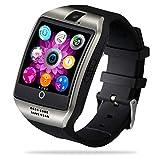 FENHOO Smartwatch, Voll Touchscreen Fitness Tracker für Damen Herren Kinder mit SIM Karte Slot, Fitnessuhr Sportuhr mit Schrittzähler Kamera Anruf SNS...