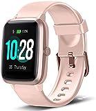 Smartwatch, Damen Herren Fitness Armbanduhr, Smart Watch IP68 Wasserdicht Fitness Tracker, 1.3' Touchscreen Fitnessuhr mit Schrittzähler, Schlafmonitor,...