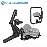FeiyuTech AK4500 Handheld Gimbal-Stabilisator für spiegellose Kameras/DSLR-Kameras, maximale Nutzlast 4,6 kg und leichte Karbonfaser-Halterung