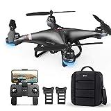 Holy Stone HS110G GPS Drohne mit 1080P Kamera HD Live Übertragung für Kinder,RC Quadcopter ferngesteuert mit Follow Me,2 Akkus Lange Flugzeit,Auto...
