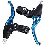 ASEOK Fahrradbremsgriff Mountain Road Bike Bremshebel Lenker Universal Bremsen Für Fahrräder, Aluminiumlegierung Fahrradbremse 2,2 cm Durchmesser EIN Paar...
